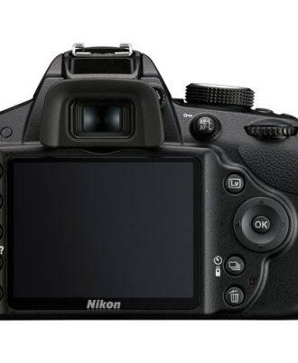Nikon D3200 With 18-55