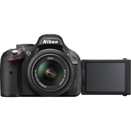 Nikon D5200 With 18-55mm