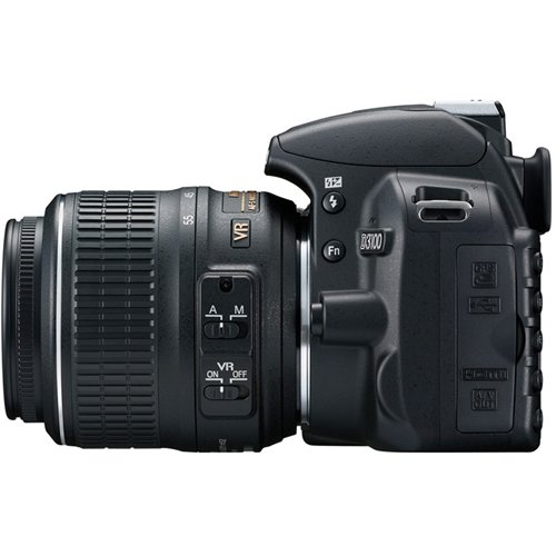 Nikon D3100 With 18-55mm