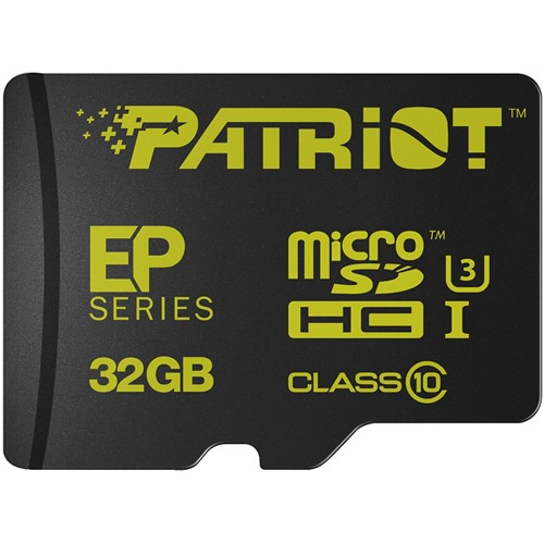 Patriot EP 32GB Series Flash microSDXC class 10 U3