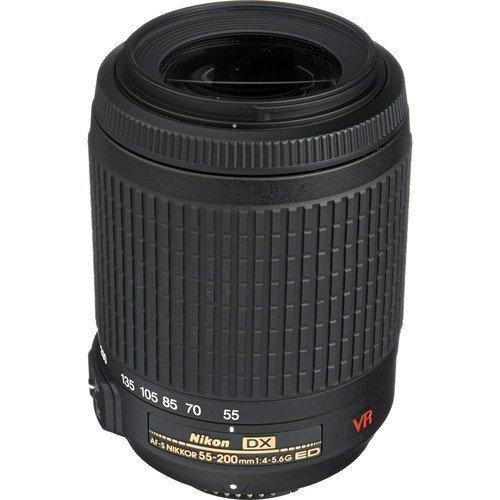 Nikon AF-S DX VR Zoom-NIKKOR 55-200mm f/4-5.6G IF-ED Lens