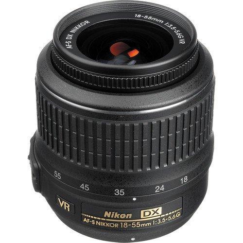 Nikon AF-S DX NIKKOR 18-55mm f/3.5-5.6G VR Lens