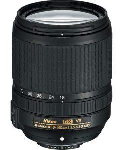 Nikon AF-S DX NIKKOR 18-140mm f/3.5-5.6G ED VR Lens