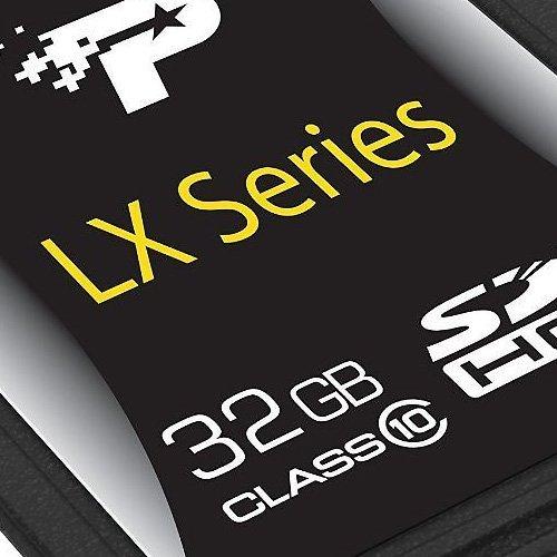 Patriot LX Series 32GB Class 10 SDHC Flash Card