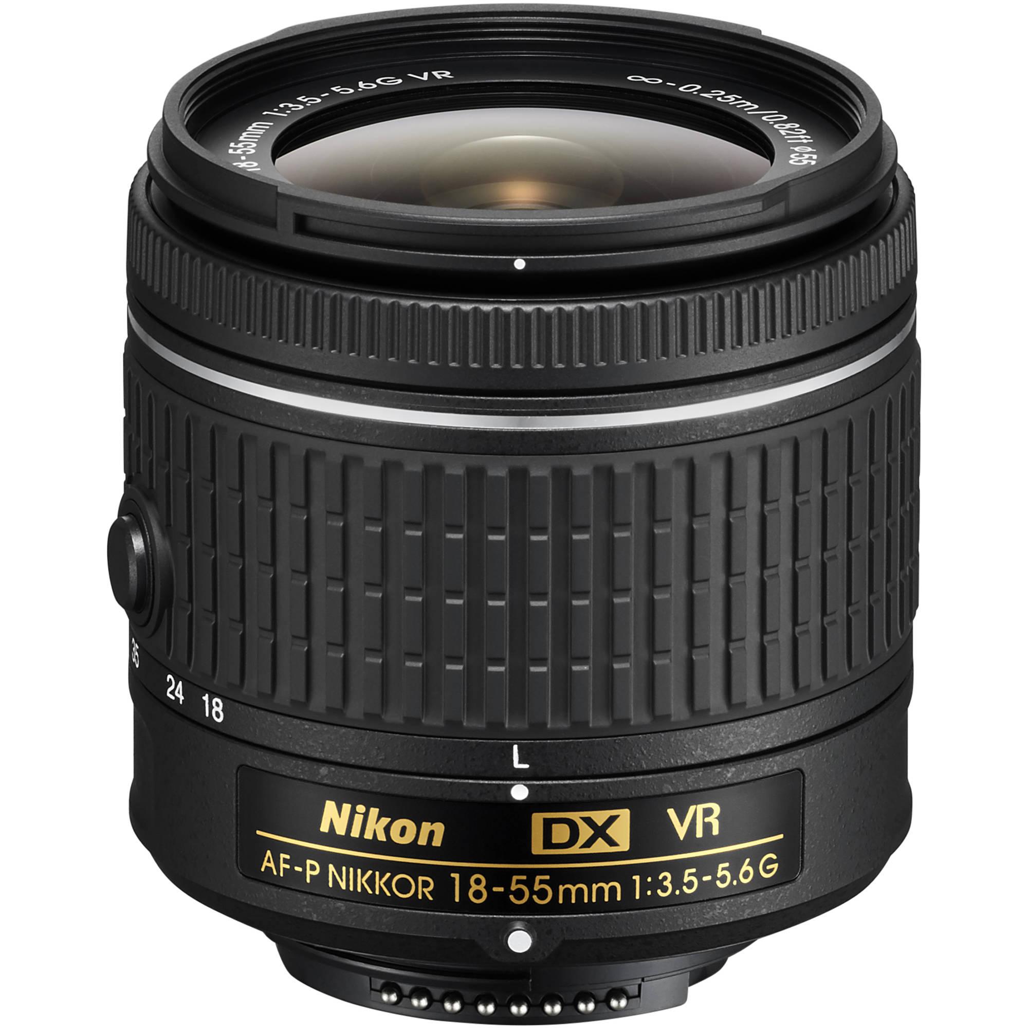 Nikon AF-P DX NIKKOR 18-55mm f/3.5-5.6G Lens 1