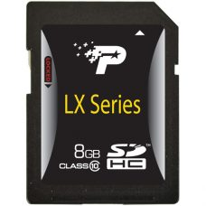Patriot LX Series 8GB Class 10 SDHC Flash Card