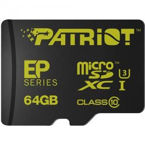 Patriot EP 64GB Series Flash microSDXC class 10 U3