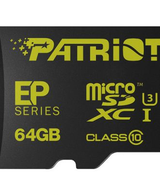 Patriot EP 64GB Series Flash microSDXC class 10 U3