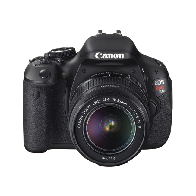 Canon EOS Kiss X5 DSLR Camera with EF-S 18-55mm IS II Lens