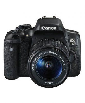 دوربین عکاسی کانن Canon EOS 750D با لنز 18-55 میلی متر STM