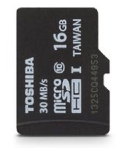Toshiba Micro 16GB Secure Digital Micro SD Class 10 UHS-I Memory Card