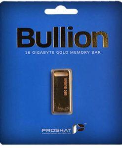 Proshat 16GB Bullion USB Flash Memory