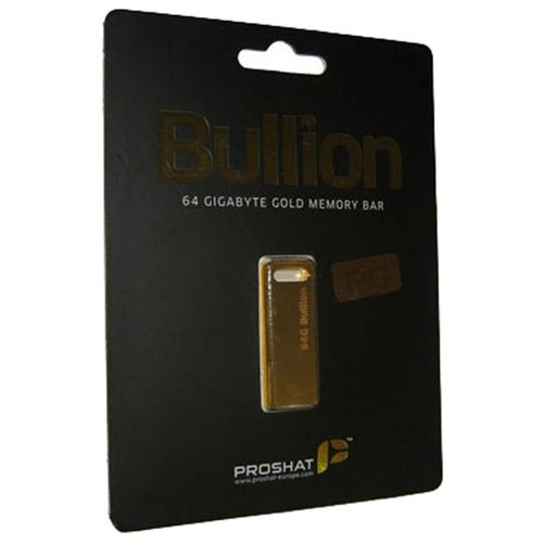 Proshat 64GB Bullion USB Flash Memory