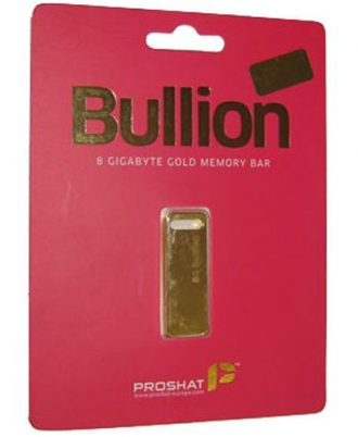 Proshat 8GB Bullion USB Flash Memory