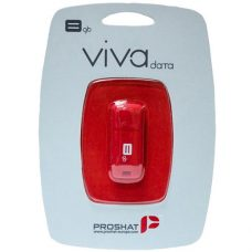 Proshat 8GB – Viva USB Flash Memory