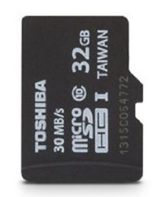 Toshiba Micro 32GB Secure Digital Micro SD Class 10 UHS-I Memory Card