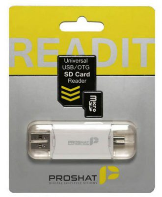 Proshat Read IT USB2.0 OTG CardReader
