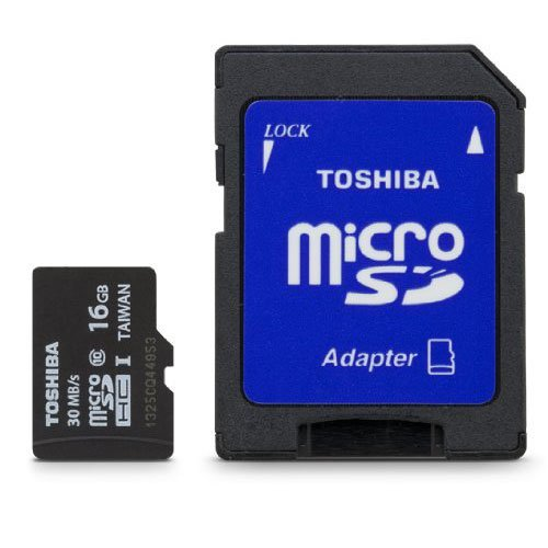 Toshiba Micro 16GB Secure Digital Micro SD Class 10 UHS-I Memory Card