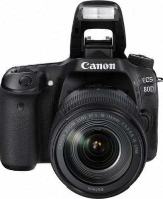 Canon EOS 80D with 18-135mm