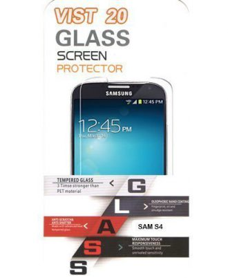 Glass Screen Protector for SAMSUNG S4
