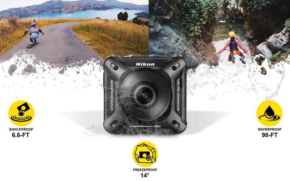 خصوصیات دوربین Nikon KeyMission 360