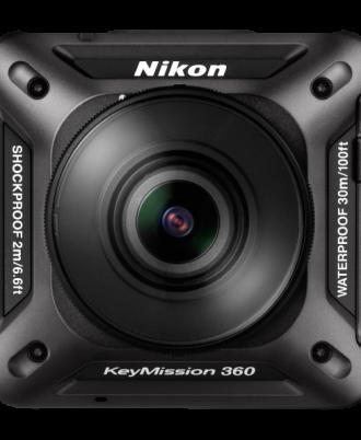 نمای جلوی دوربین Nikon KeyMission 360