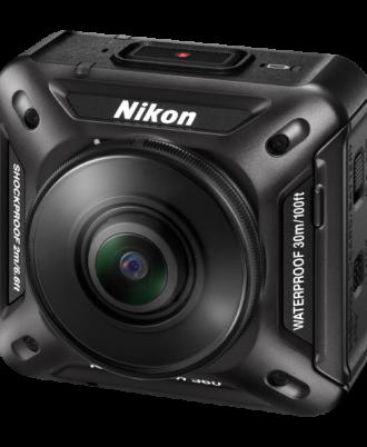 نمای سمت چپ دوربین Nikon KeyMission 360
