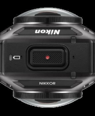 نمای بالای دوربین Nikon KeyMission 360