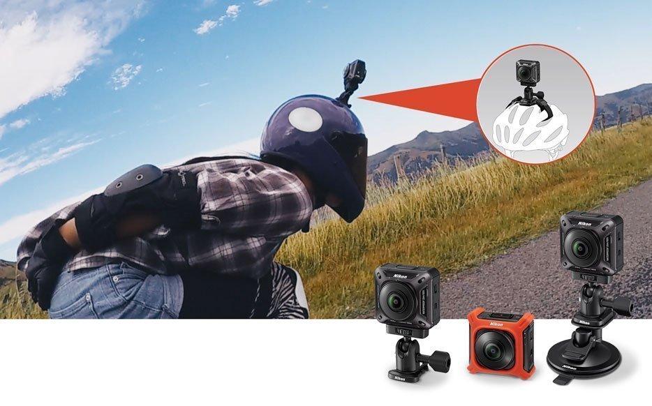 مانت های مختلف دوربین Nikon KeyMission 360
