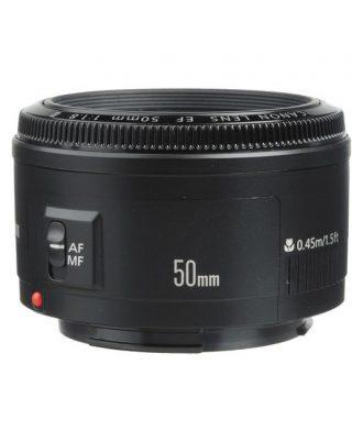 لنز کانن 50 میلیمتر f1.8 II