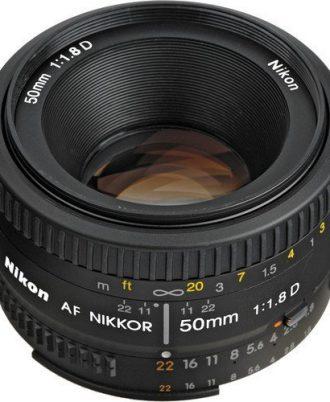 لنز دوربین نیکون 50 میلی متر f1.8 سریD