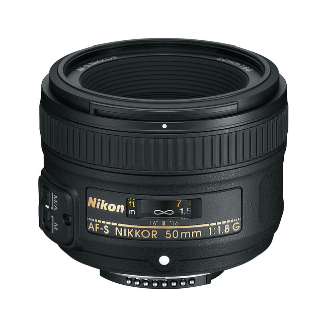لنز نیکون Nikon AF-S NIKKOR 50mm f/1.8G 1
