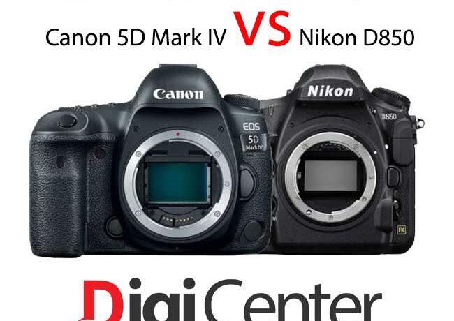 مقایسه دوربین Canon 5D Mark IV با Nikon D850