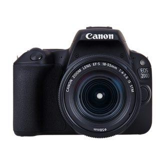 دوربین دیجیتال کانن 200D با لنز 18-55 میلی متر IS II