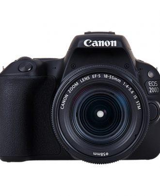 دوربین دیجیتال کانن Canon EOS 200D با لنز 18-55 میلی متر IS II