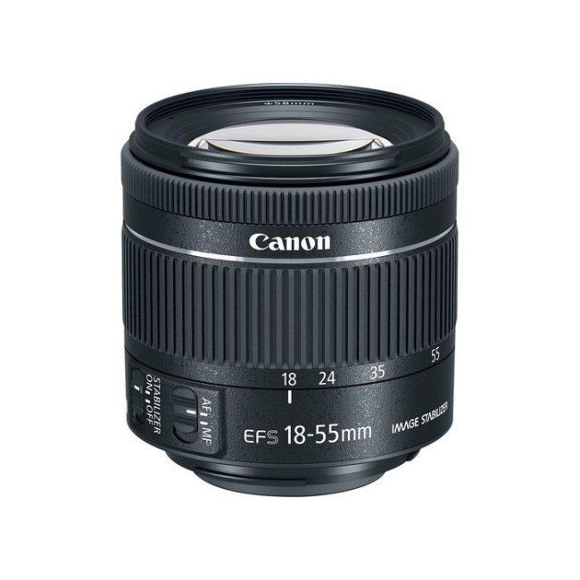 لنز کانن Canon EF-S 18-55mm f4-5.6 IS STM