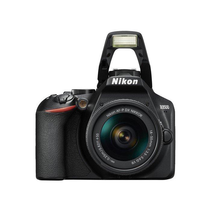 دوربین دیجیتال نیکون D3500 با لنز 18-55 میلی متر AF-P VR