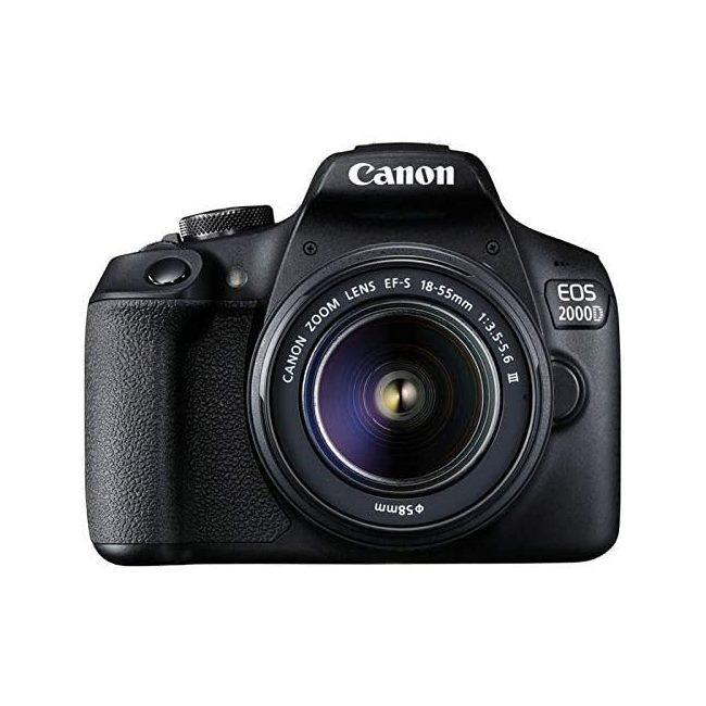 دوربین عکاسی کانن Canon EOS 2000D با لنز 18-55 DC III