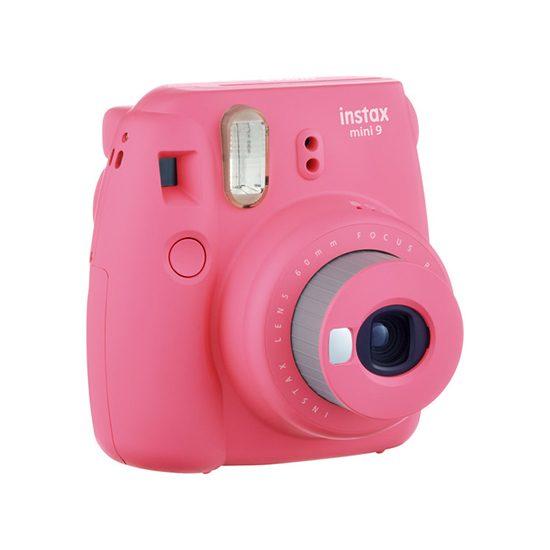 دوربین عکاسی چاپ سریع فوجی اینستکس مینی Instax Mini 9 صورتی