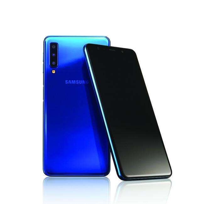 گوشی موبایل سامسونگ گلکسی (A7(2018 ظرفیت 128 گیگابایت