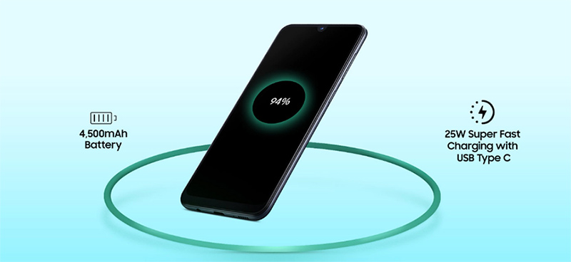 گوشی موبایل سامسونگ گلکسی A70 ظرفیت 128 گیگابایت 8
