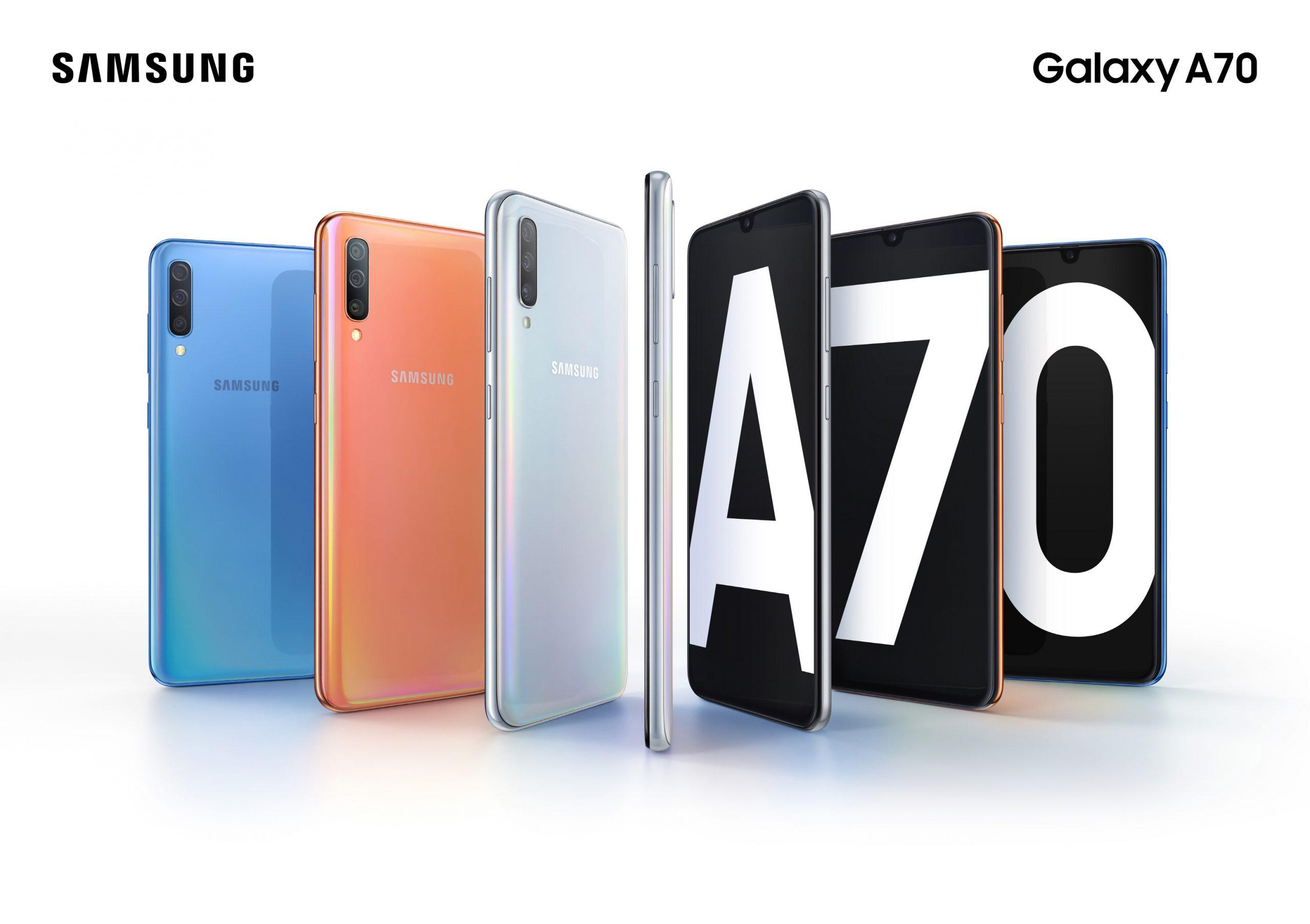 گوشی موبایل سامسونگ گلکسی A70 ظرفیت 128 گیگابایت 5