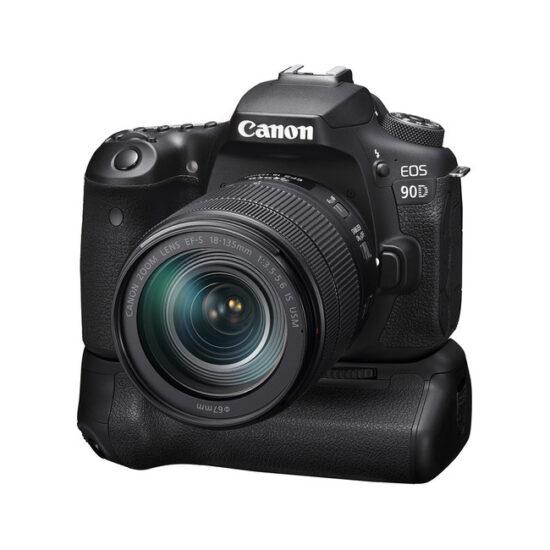 دوربین Canon 90D با لنز 18-135 USM