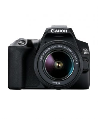 دوربین عکاسی کانن Canon EOS 250D + EF-S 18-55mm f/3.5-5.6 III