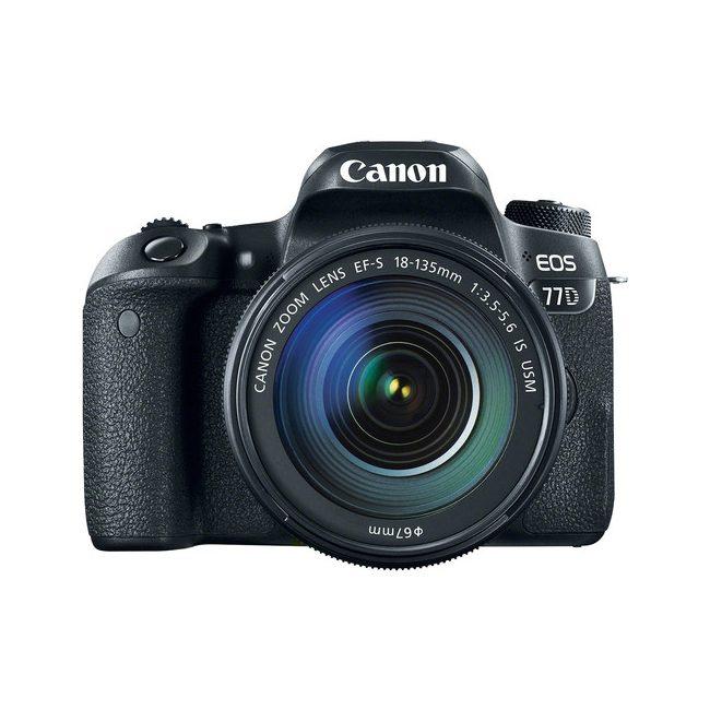 دوربین عکاسی کانن Canon 77D 18-135 USM