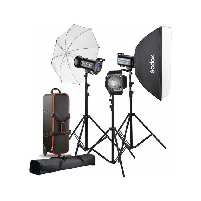 کیت فلاش استودیویی 300 ژول گودوکس Godox QS300II