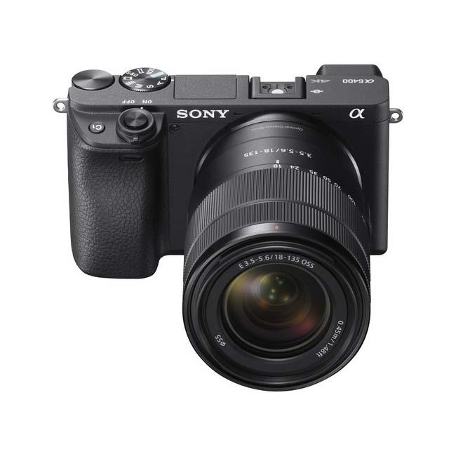 دوربین بدون آینه سونی Alpha a6400 با لنز 18-135 میلی متر