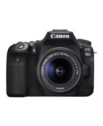 دوربین دیجیتال کانن Canon 90D با لنز 18-55 STM