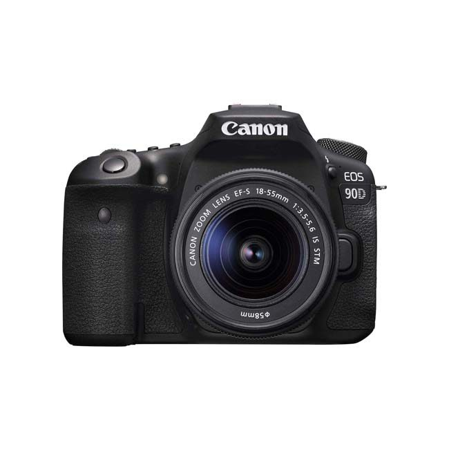 دوربین دیجیتال کانن 90D با لنز 18-55 میلی متر STM