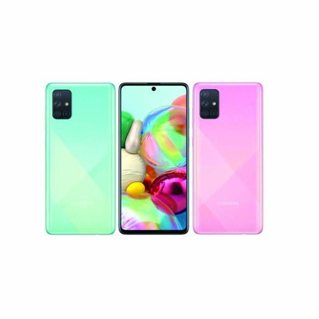 گوشی موبایل سامسونگ گلکسی A71 ظرفیت 128 گیگابایت